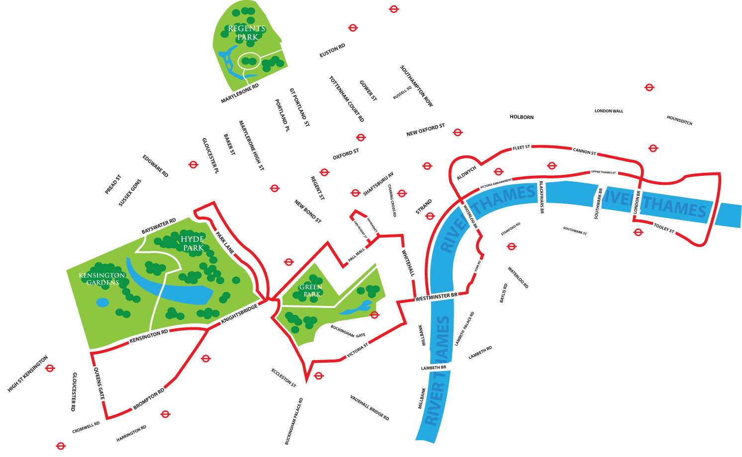 london night bus map pdf