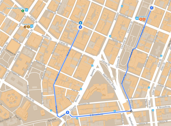 Route der Lunar New Year Parade