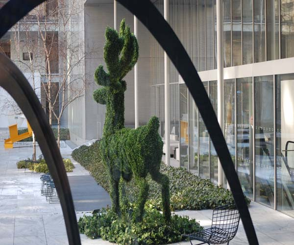 Tree Sculpture in the MOMA Garden © Karin Bratone