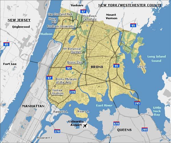 Staten Island Park Map